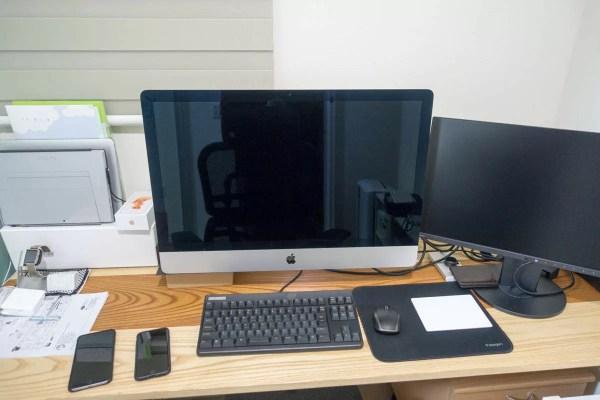 とりあえず配備完了したiMac