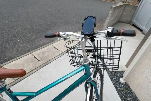 こんなスタイルに自転車に乗る