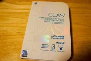 iPhone 4S時代に登場した初代保護ガラス『GLAS.t』