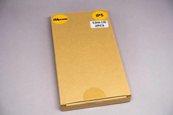 OAproda iPhoneSE/5/5s 日本旭硝子0.2mm