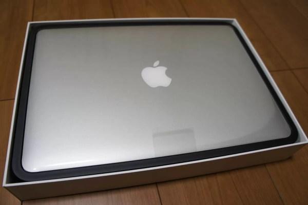 2013年11月購入当時のMacBook Pro
