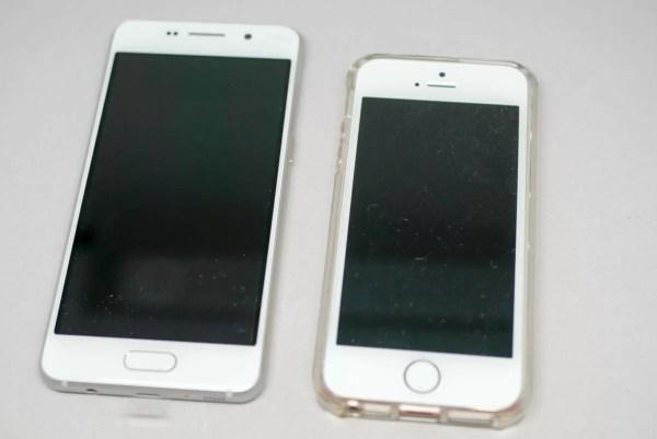 iPhone SEとの比較