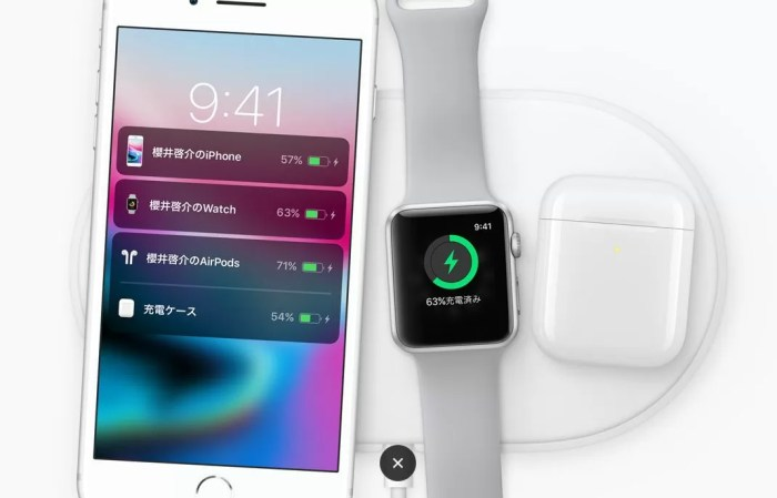 Apple『ワイヤレス充電パッドAirPower』