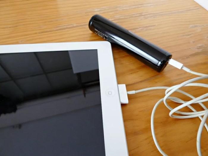 iPadにだって充電できます