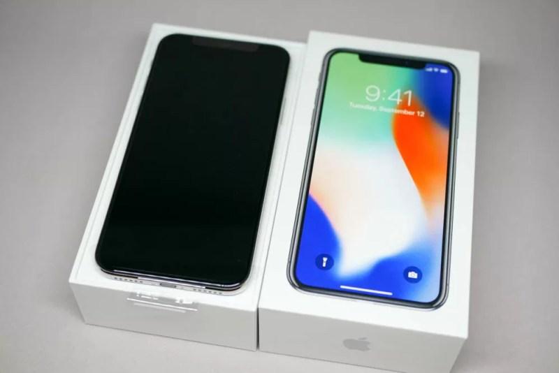 iPhone X本体