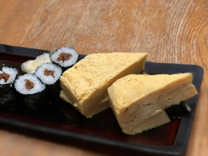 ポートレートモードで撮影したお寿司
