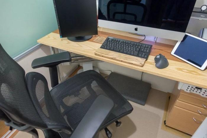 椅子とかもいいものを揃えた