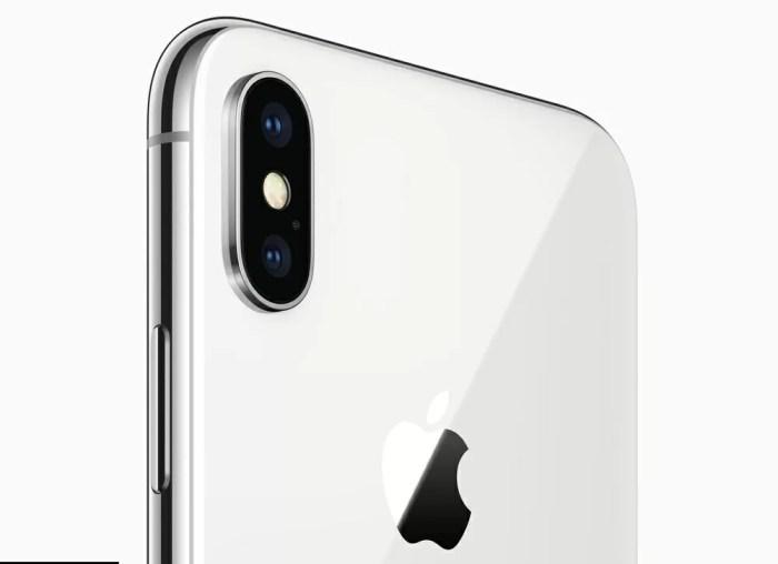 iPhone Xのデュアルカメラ