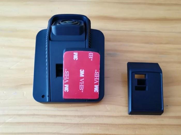 MUSON(ムソン) ドライブレコーダー 1080P NOTE1 ブラケットの取り換え