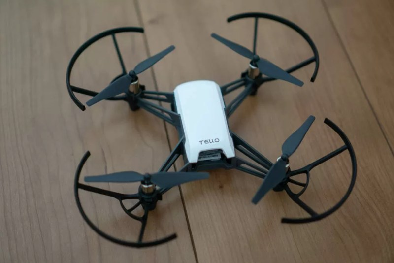「RYZE TELLO Powered by DJI」上から