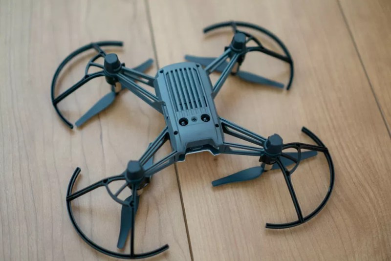 「RYZE TELLO Powered by DJI」下から