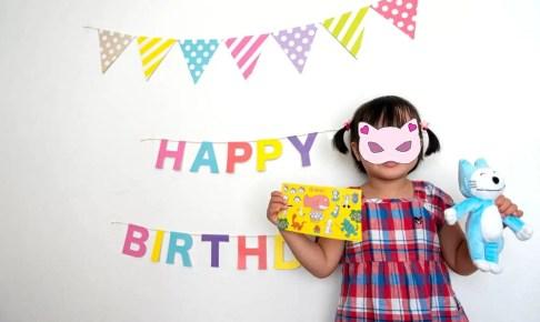 長女4歳の誕生日
