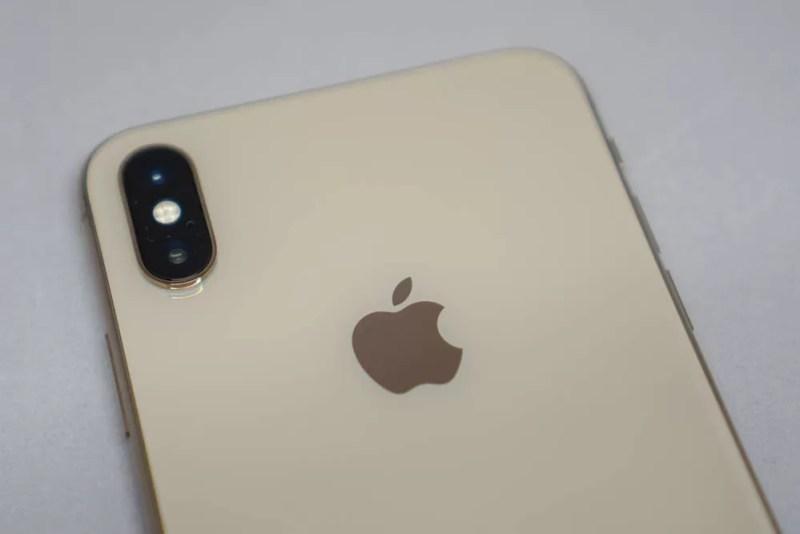 iPhone XSのデュアルカメラ