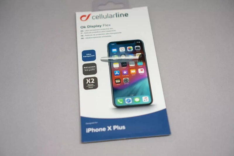 Cellularline「OK DISPLAY」パッケージ