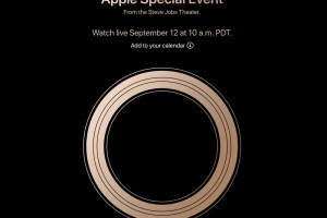 2018年モデルのiPhoneは2018年9月12日発表
