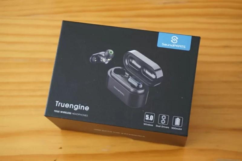 SoundPEATS(サウンドピーツ) Truengine Bluetooth イヤホン 外観