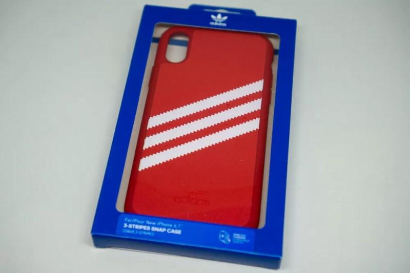 adidas Originals Moulded case iPhone XRレッドパッケージ