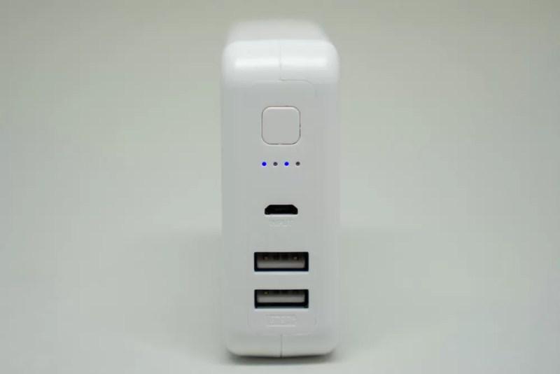LEDでバッテリ残量などを通知