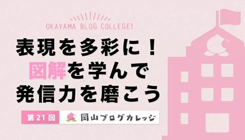 第21回岡山ブログカレッジ