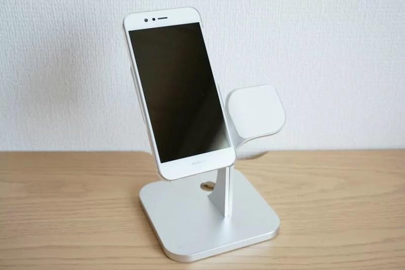 【Humixx 携帯電話スタンド】スマホを乗せる