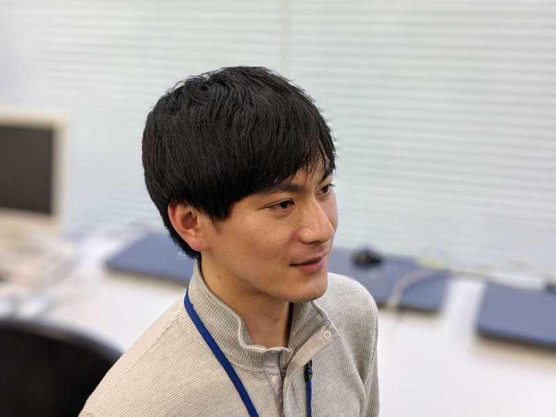 Pixel 3ポートレートモードで撮影した藤田さん