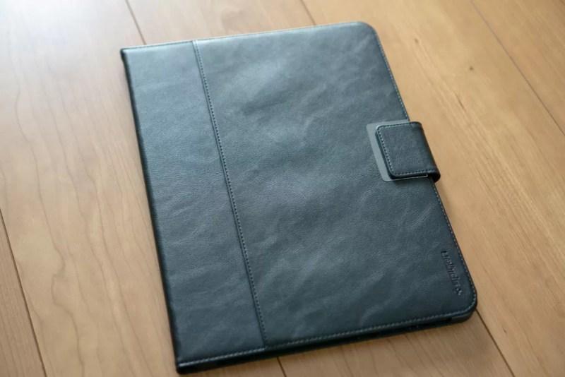 Spigen iPad Proケース スタンドフォリオの外観