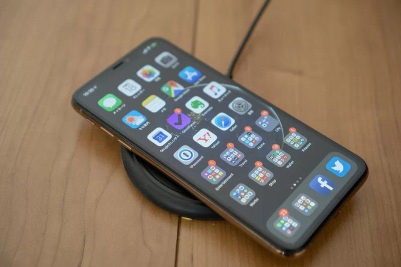 iPhoneでは当たり前になったワイヤレス充電
