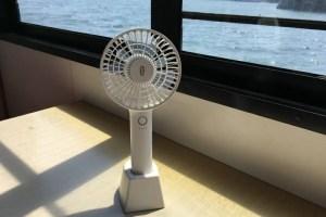 TaoTronics TT−HP025 2600mAh バッテリー内蔵携帯扇風機