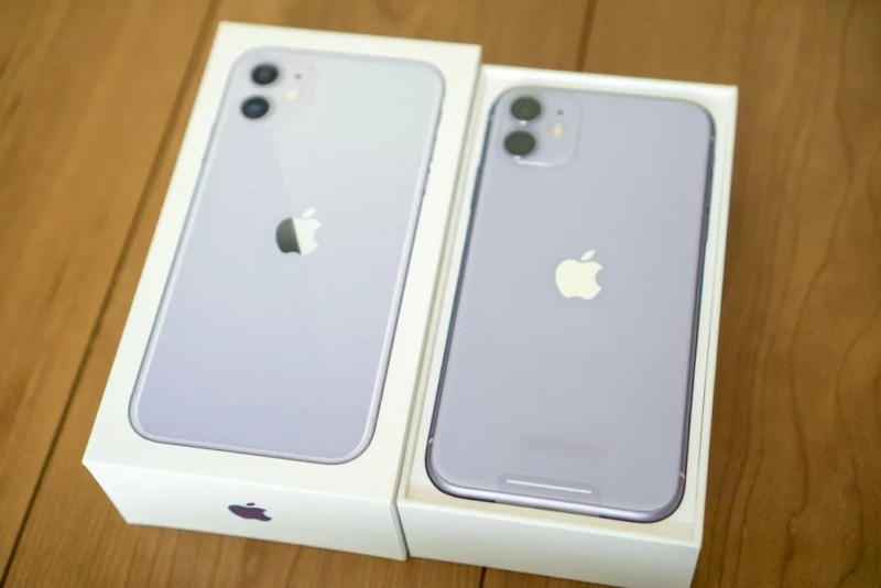 iPhone 11 パープル開封フォトレポート