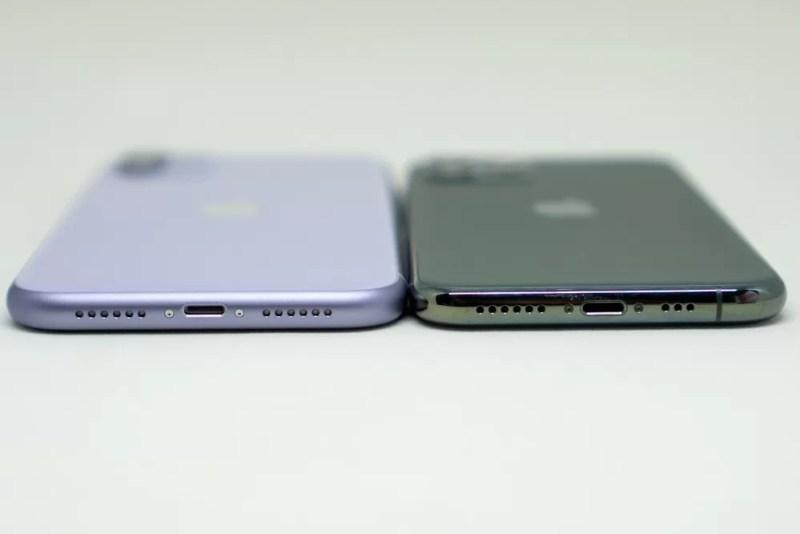 iPhone 11とiPhone 11 Proのフレーム