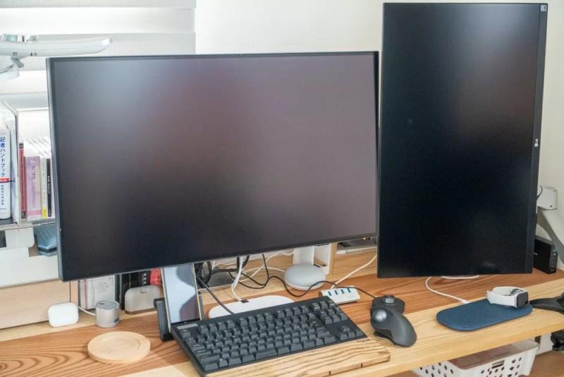 BenQ「デザイナーモニターPD3220U」を使って作業してみた