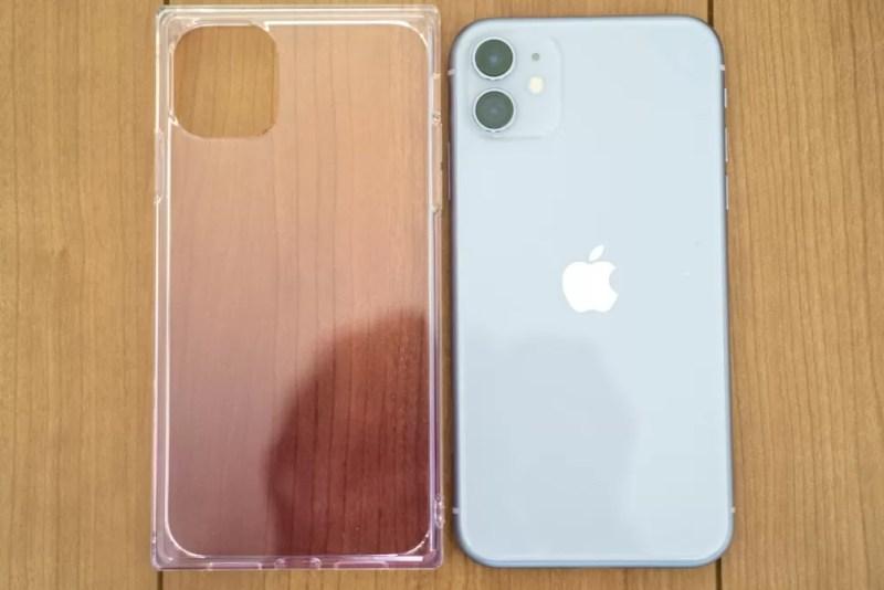 装着前のiPhone 11