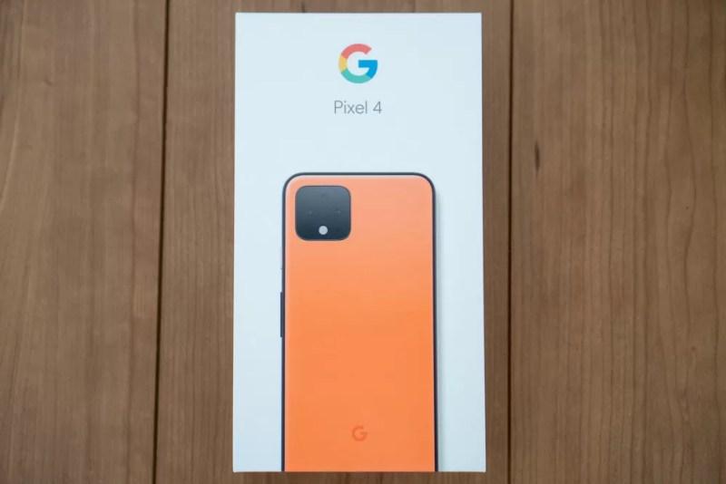 Pixel 4化粧箱