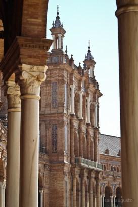 Plaza de España sara augusto 4