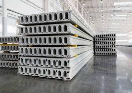 Concrete factory worker