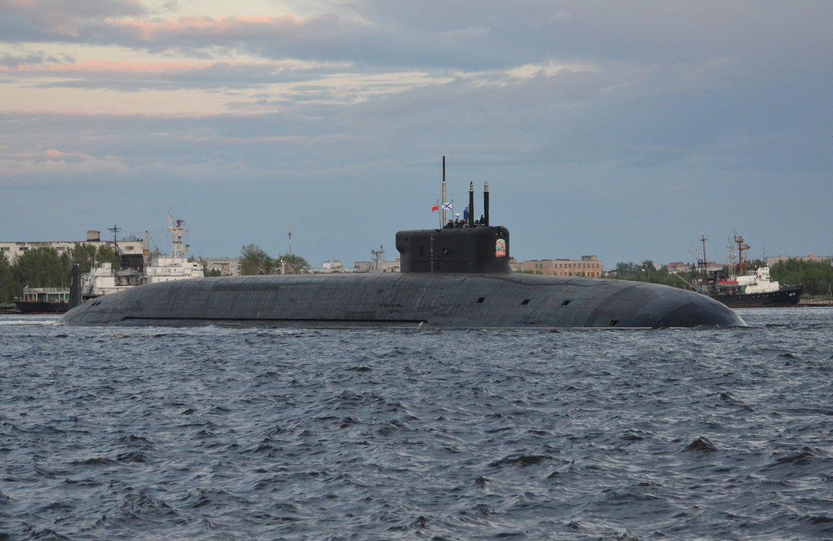 Submarino do projeto 955 Borei-A, K-549 'Knyaz Vladimir'
