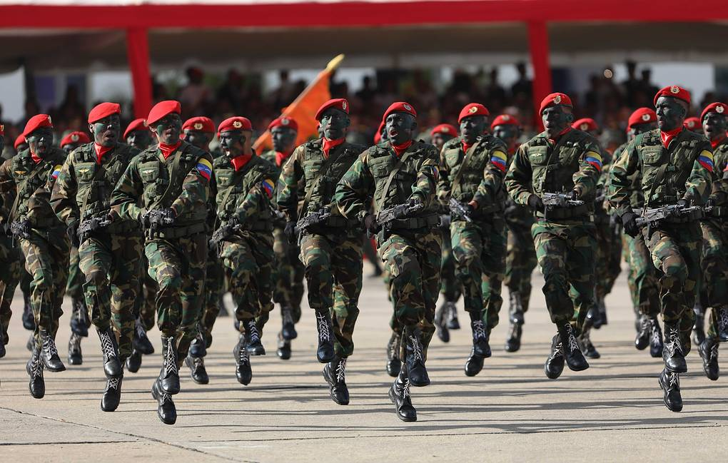 Maduro orders military exercises and calls for 'revolution' in the Armed Forces