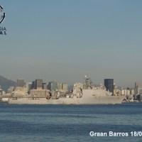 UNITAS 2019: USS CARTER E NAVIOS DA ARMADA DA ARGENTINA JÁ ESTÃO NO RIO