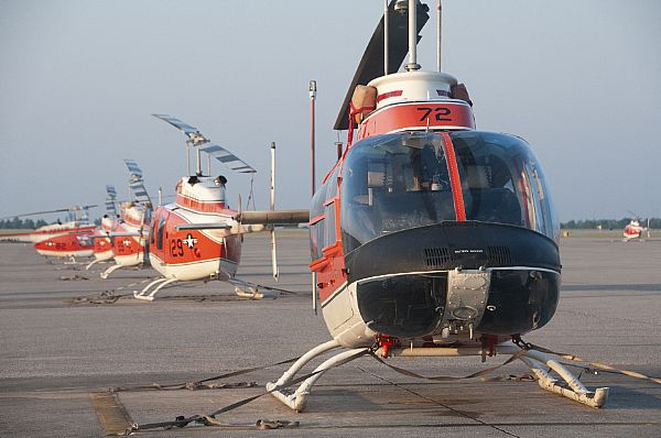 Helicopter Training Operations at NAS Whiting Field