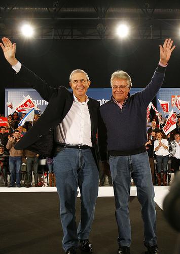 Touriño y Felipe Gonzalez