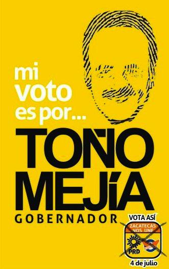 Mi Voto es por… – Mejia