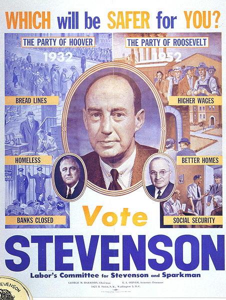 El Partido de Roosevelt – Stevenson