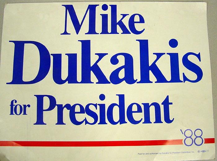 Presidente – Dukakis