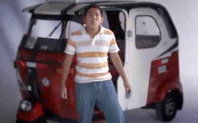 Joven con Mototaxi – Ollanta