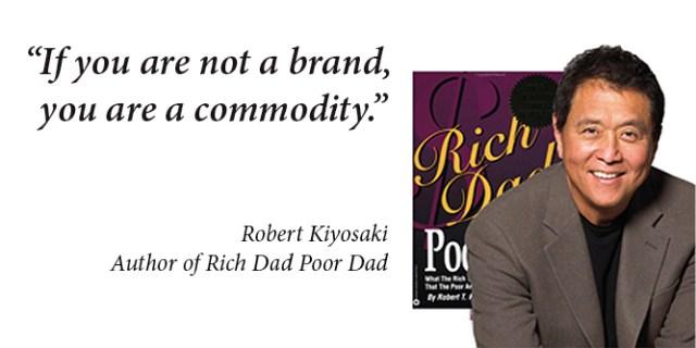 Robery Kiyosaki Brand Commodity