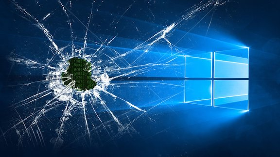 Broken Windows 10