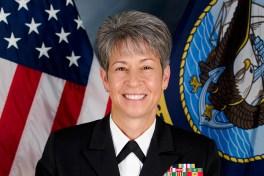 Retired Three-Star Vice Admiral Nanette DeRenzi