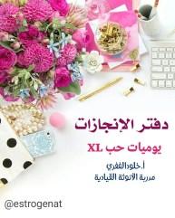 يوميات حب XL // اليوم 1 : دفتر الإنجازات
