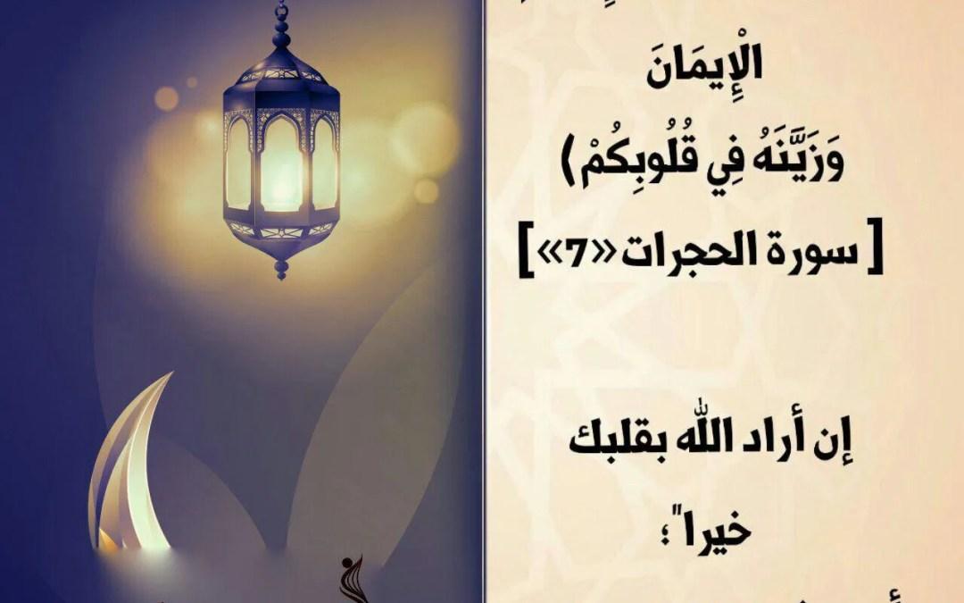 الجزء السادس والعشرون / مسابقة ربيع قلبي / رمضان 1438