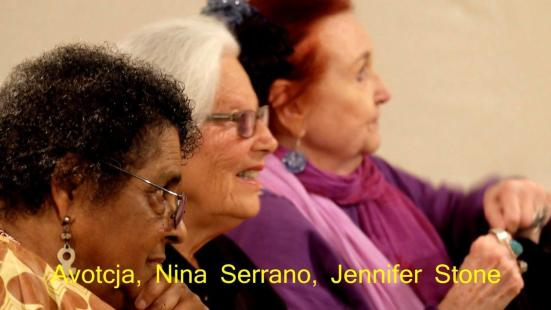 New Video: KPFA Honors Avotcja, Nina Serrano, and Jennifer Stone